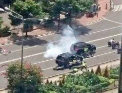 Ini penampakan mobil yang digunakan para pelaku bom Plaza Sarinah